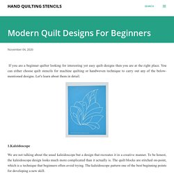 Buy Christmas Quilting Stencils Online