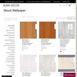 Modern & Rustic Faux Wood Wallpaper