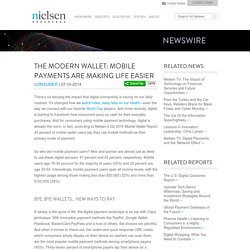 The Modern Wallet: Mobile Payments are Making Life Easier