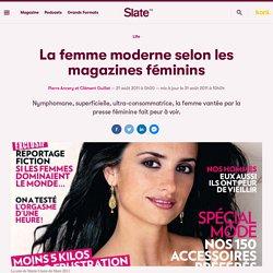 La femme moderne selon les magazines féminins