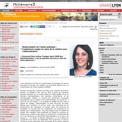 Modernisation de l'action publique : l'expérience usager au cœur de la relation avec l'administration