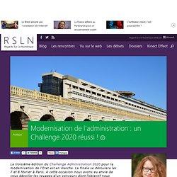 Modernisation de l'administration : un Challenge 2020 réussi !