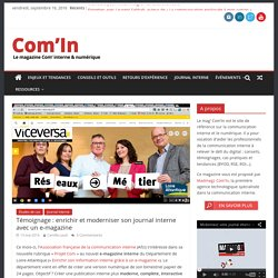 Moderniser sa communication interne avec un e-magazine