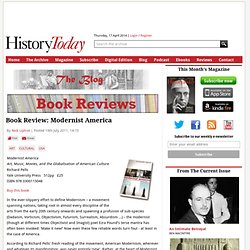 Book Review: Modernist America — www.historytoday
