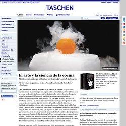 Modernist Cuisine. El arte y la ciencia de la cocina. Libros TASCHEN