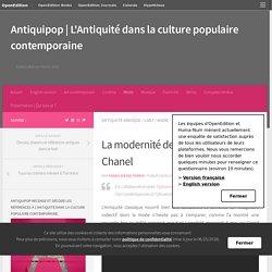 La modernité de l'Antiquité – Chanel