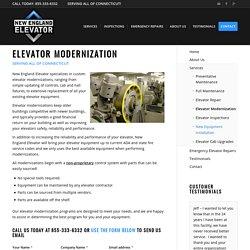 Elevator Modernization in Hartford, Connecticut