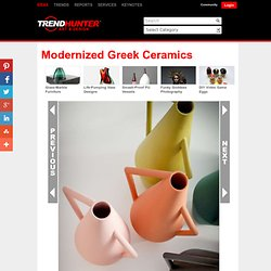 Modernized Greek Ceramics - The Kora Vase by Studio Pepe Remixes Traditional Art Ideals (GALLERY) - (Navigation privée)