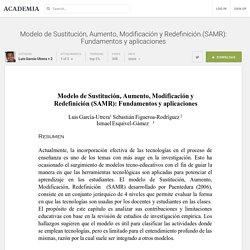 Modelo de Sustitución, Aumento, Modificación y Redefinición (SAMR): Fundamentos y aplicaciones