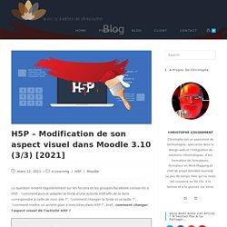 H5P - Modification de son aspect visuel dans Moodle 3.10 (3/3) [2021] - La boite à idées de Christophe