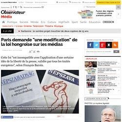 """Paris demande """"une modification"""" de la loi hongroise sur les médias - Médias"""