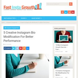 5 Creative Instagram Bio Modification For Better Performance - Fast Insta Growth