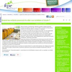 Communiqué FCPE Toilettes