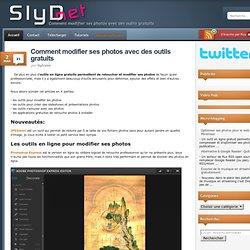 Modifier ses photos avec des logiciels et outils en ligne gratuits
