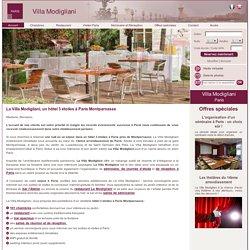 La Villa Modigliani : un hôtel 3 étoiles pour vos vacances à Paris Montparnasse