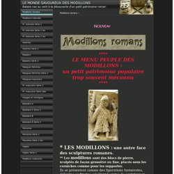 Modillons romans