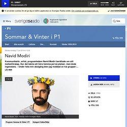 Navid Modiri 17 juli 2014 kl 13:00 - Sommar & Vinter i P1