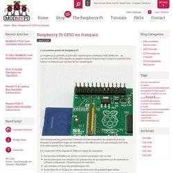 Raspberry Pi GPIO en français