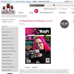 The MagPi Raspberry Pi Magazine - Issue 9