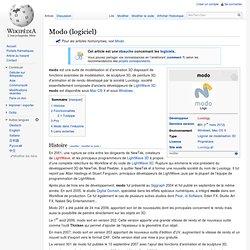 Modo (logiciel)