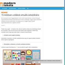 15 módszer a diákok virtuális üdvözlésére