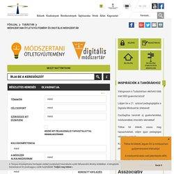 Módszertani ötletgyűjtemény és digitális módszertár - Tempus Közalapítvány
