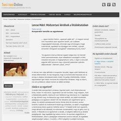 Lencse Máté: Módszertani kérdések a felsőoktatásban