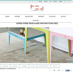 Garde-robe modulaire par Matthias Ries - Blog Esprit Design