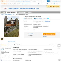 CH0503 wooden modular house - Detailed info for CH0503 wooden modular house,Wooden House,CH0503 wooden modular house,CH0503 on Alibaba.com