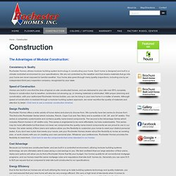 Modular Homes Construction - Rochester Homes