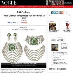 Modular jewellery
