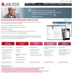 Solution modulaire - Jalios