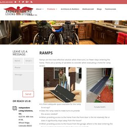 Modular Wheelchair Ramps For Sale