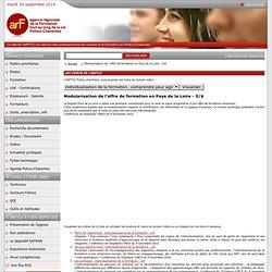 Modularisation de l'offre de formation en Pays de la Loire - 5/6