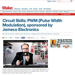 Make: Online | Circuit Skills: PWM (Pulse Width Modulation), sponsored by Jameco Electronics