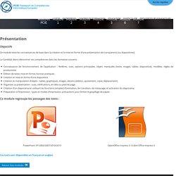 Module 6 - Présentation - PCIE