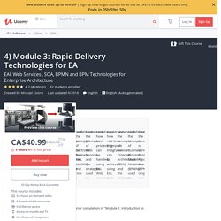 4) Module 3: Rapid Delivery Technologies for EA