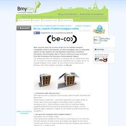 Be-coc, module d'habitat écologique mobile