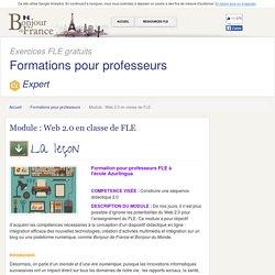 Module : Web 2.0 en classe de FLE