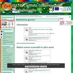 Modulistica genitori – ISA18 – Istituto Comprensivo di Arcola/Ameglia
