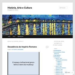 História, Arte e Cultura