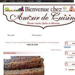 pain d'epice moelleux - amour de cuisine