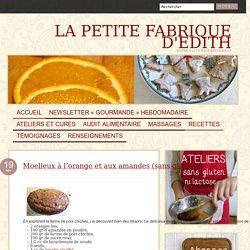 Moelleux à l'orange et aux amandes (sans gluten)