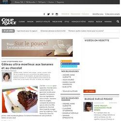 Gâteau ultra-moelleux aux bananes et au chocolat