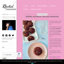 Muffins moelleux chocolat betterave