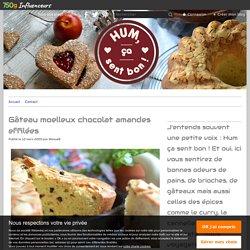 Gâteau moelleux chocolat amandes effilées