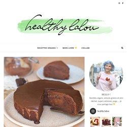 Gâteau moelleux vegan chocolat & coco – Healthy Lalou