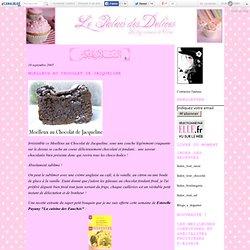 Moelleux au Chocolat de Jacqueline