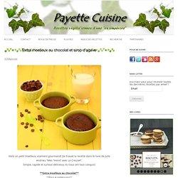 Extra moelleux au chocolat et sirop d'agave