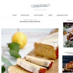 Cake moelleux citron clémentine